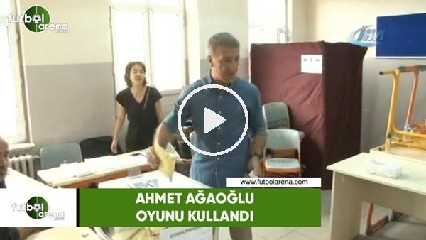 Ahmet Ağaoğlu oyunu Sarıyer'de kullandı