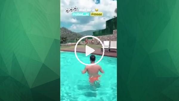 'Hakan Çalhanoğlu gollerine havuzda devam ediyor!