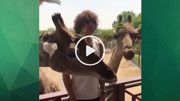 David Luiz tatilin tadını çıkarıyor