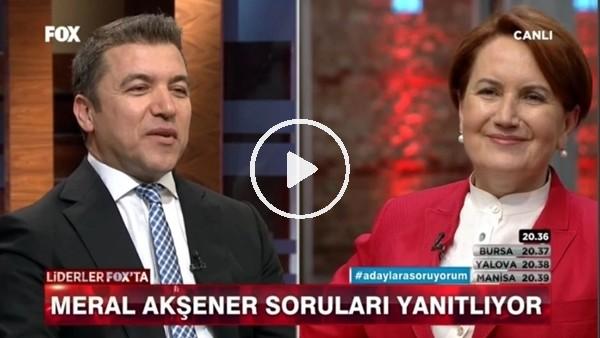 """Meral Akşener: """"Evlat durumundan Galatasaraylıyım"""""""