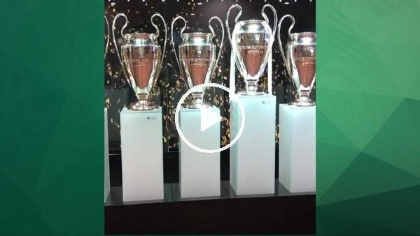 Roberto Carlos, Real Madrid müzesinde!