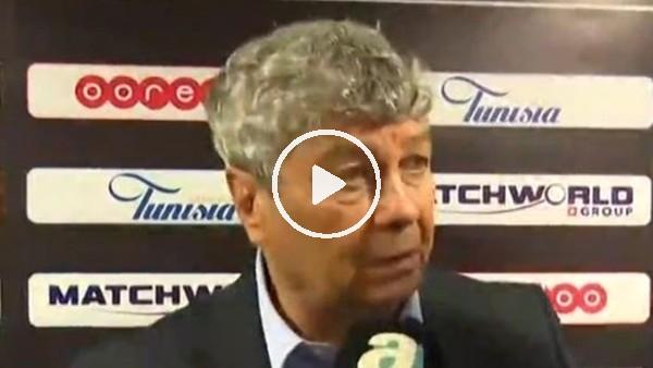 Mircea Lucescu'nun Tunus maçı sonrası açıklamaları