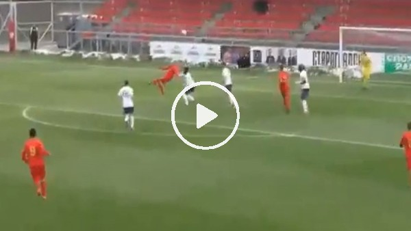 Bursaspor'un yeni transferi Jani Atanasov'un İngiltere'ye attığı muhtşem gol