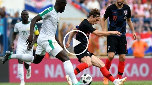 Hırvatistan 2-1 Senegal (Maç özeti ve golleri)