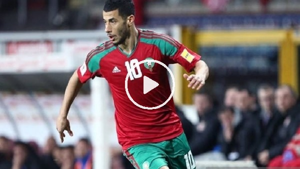 Belhanda'nın Slovaka'ya attığı şık gol