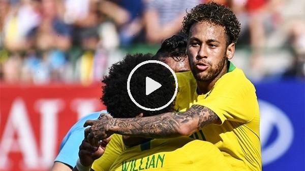 Avusturya 0-3 Brezilya (Maç özeti ve golleri)