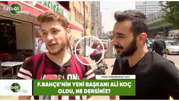 Sokaktaki vatandaş Ali Koç için ne dedi?