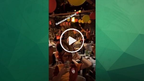 Emre Aşık, Galatasaraylılar Derneğinin şampiyonluk kutlamasında!