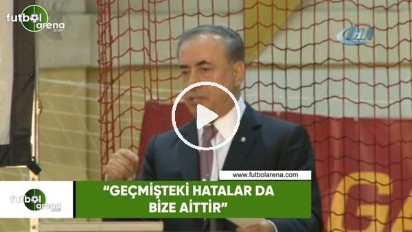 """Mustafa Cengiz: """"Geçmişteki hatalar da bize aittir"""""""