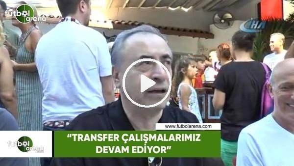 """Mustafa Cengiz: """"Transfer çalışmalarımız devam ediyor"""""""