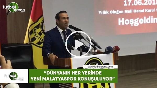 """Adil Gevrek: """"Dünyanın her yerinde Yeni Malatyaspor konuşuluyor"""""""