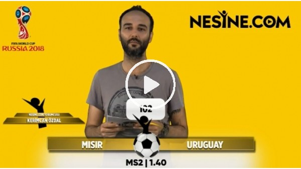 Dünya Kupası İddaa tahminleri (15 Haziran 2018)