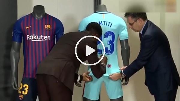 'Samuel Umtiti, 2023'e kadar Barcelona'da!