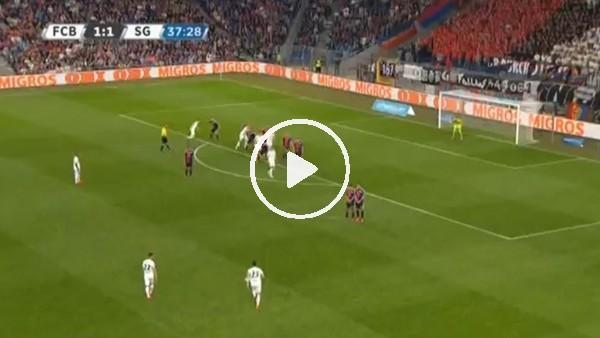 Malatyaspor'un yeni transferi Danijel Aleksic'ten muhteşem frikik golü