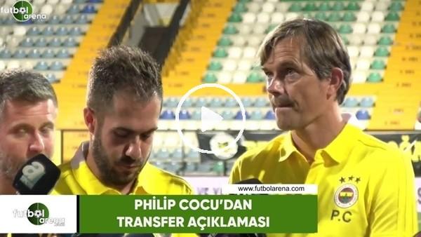 Philip Cocu'dan transfer açıklaması