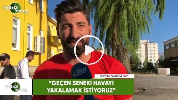 """Muammer Zülfikar Yıldırım: """"Geçen seneki havayı yakalamak istiyoruz"""""""