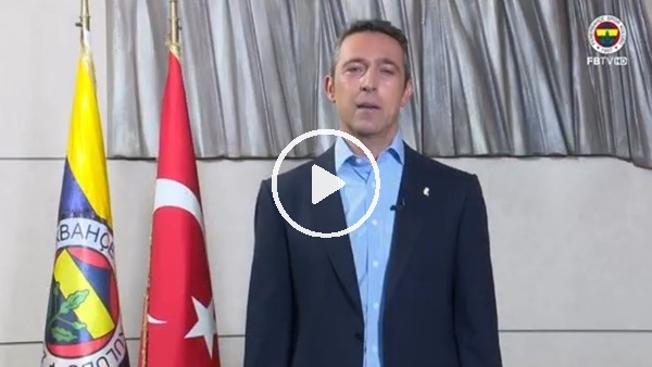 Ali Koç'tan Fenerbahçeliler Günü mesajı!