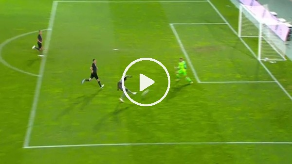 Moussa Marega'nın Everton'a attığı gol