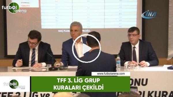 TFF 3. Lig grup kuraları çekildi