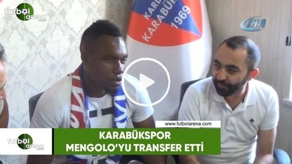 Karabükspor, Mengolo'yu transfer etti