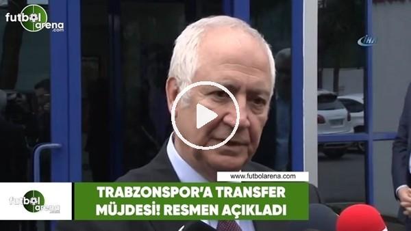 Trabzonspor'a transfer müjdesi! Resmen açıkladı..