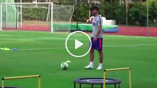 Diego Simeone'den futbol şovu