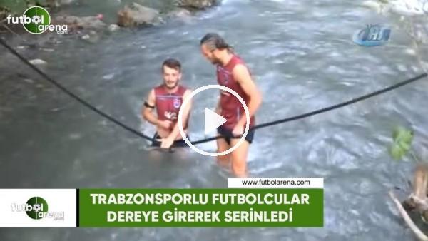Trabzonsporlu futboclular derede serinledi
