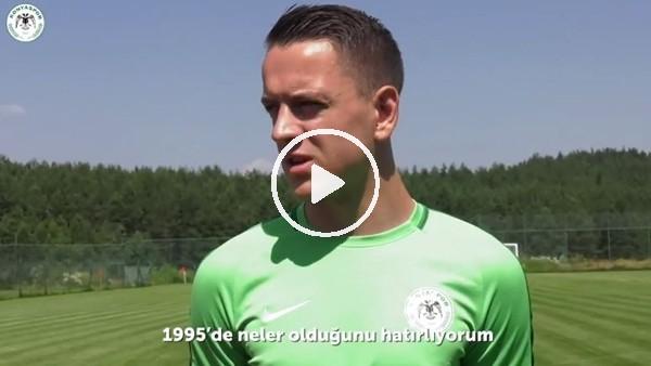 Atiker Konyaspor, Srebrenitsa soykırımını unutmadı