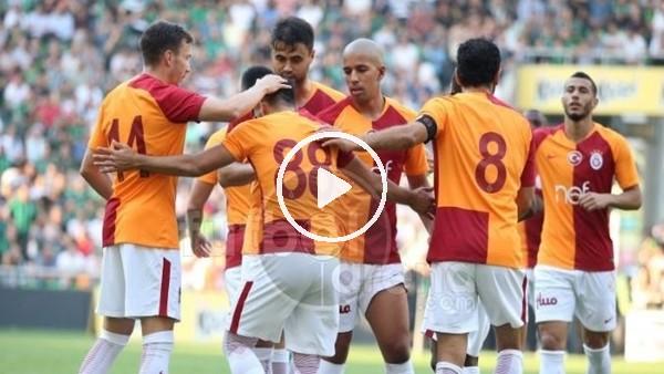 'Muğdat Çelik, Galatasaray formasıyla ilk golünü attı
