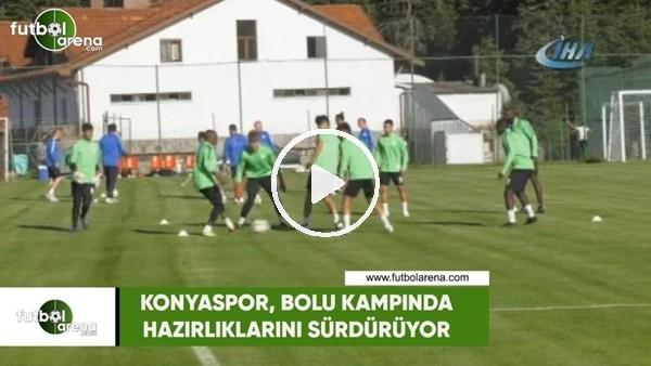 Konyaspor, Bolu kampında hazırlıklarını sürdürüyor