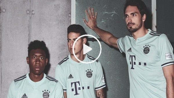 'Bayern Münih yeni sezon formalarını tanıttı