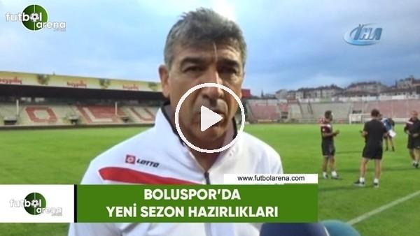 'Boluspor, kampın ilk etabını hazırlık maçıyla tamamladı