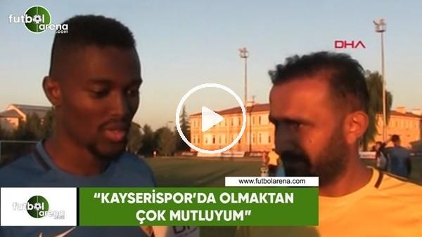 """Mensah: """"Kayserispor'da olmaktan çok mutluyum"""""""