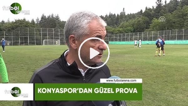 Konyaspor'dan güzel prova