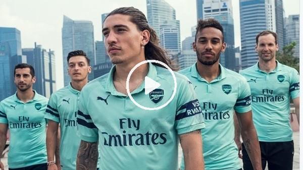 'Arsenal yeni sezon formalarını tanıttı