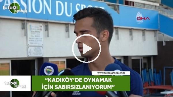 """Barış Alıcı: """"Kadıköy'de oynamak için sabırsızlanıyorum"""""""