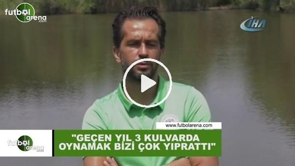 """Ali Turan: """"Geçen yıl 3 kulvarda oynamak bizi çok yıprattı"""""""