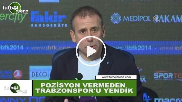 """Abdullah Avcı: """"Pozisyon vermeden Trabzonspor'u yendik"""""""