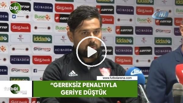 """'İlhan Palut: """"Gereksiz penaltıyla geriye düştük"""""""