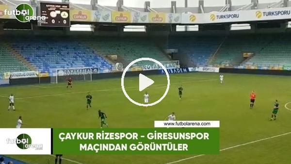 Çaykur Rizespor - Giresunspor maçından görüntüler