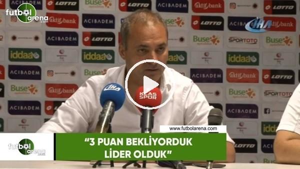 """'Erkan Sözeri: """"3 puan bekliyorduk lider olduk"""""""