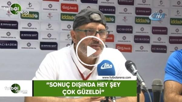 """'Mustafa Reşit Akçay: """"Sonuç dışında her şey güzeldi"""""""