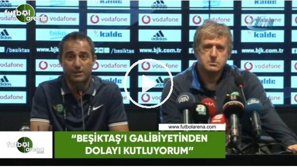 """Susic: """"Beşiktaş'ı galibiyetinden dolayı kutluyorum"""""""