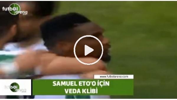 Konyaspor'dan Samuel Eto'o için veda klibi