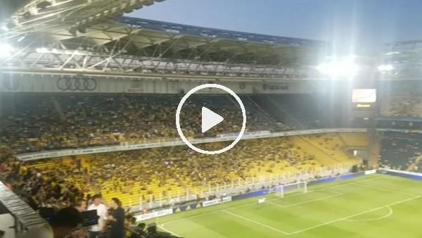 Fenerbahçe - Benfica maçı öncesi tribünler
