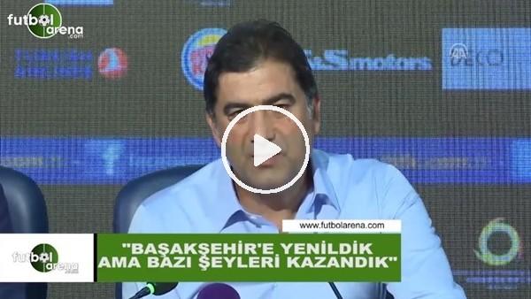 """Ünal Karaman: """"Başakşehir'e yenildik ama bazı şeyleri kazandık"""""""