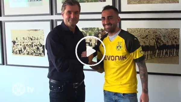 Dortmund, Paco Alcacer transferini böyle açıklandı!