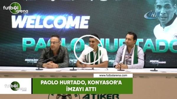 Paolo Hurtado, Konyaspor'a imzayı attı