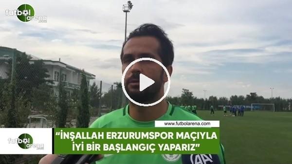"""Ali Turan: """"İnşallah Erzurumspor maçıyla iyi bir başlangıç yaparız"""""""