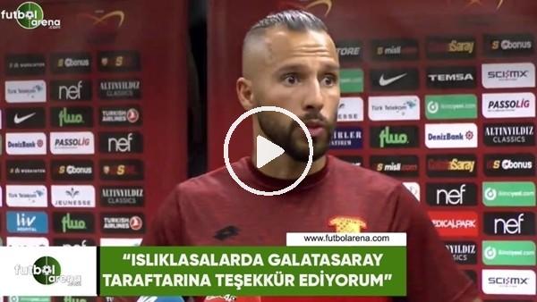 """Yasin Öztekin: """"Islıklasalar da Galatasaray taraftarına teşekkür ediyorum"""""""